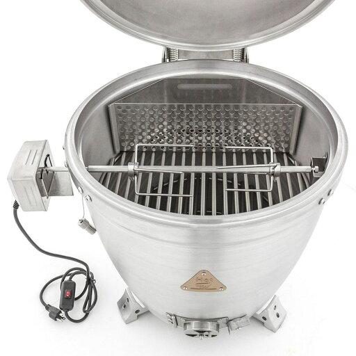 """Blaze BLZ-KMDO-ROTIS 20"""" Kamado Rotisserie Kit with Charcoal Basket 76543a30aab982dc49897d66500f6c1e"""