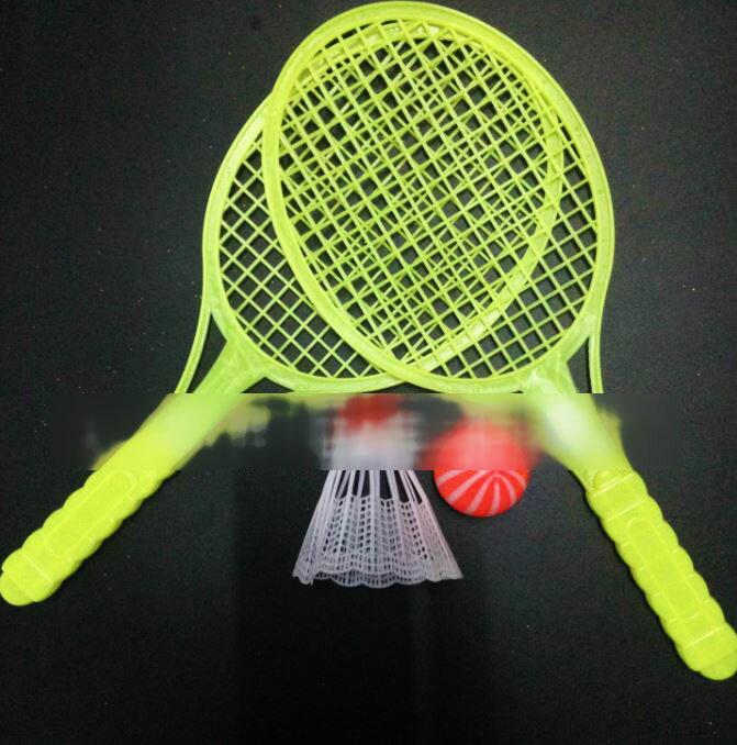 【省錢博士】兒童戶外健身運動玩具 / 羽毛球網球拍套裝