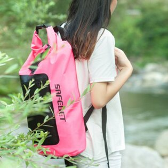♚MYCOLOR♚多功能防水後背包(45L)專業漂流袋單背戶外防水袋沙灘衣服收納袋【P310】