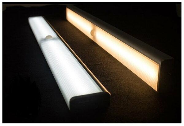 充電式LED智能光控人體感應燈衣櫃燈人體感應燈衣櫃燈閱讀燈檯燈小夜燈長條燈感應燈