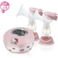 Combi 自然吸韻雙邊電動吸乳器-Hello Kitty限定版 (送-Kitty主機收納方包/手提袋)-麗嬰房-媽咪親子推薦