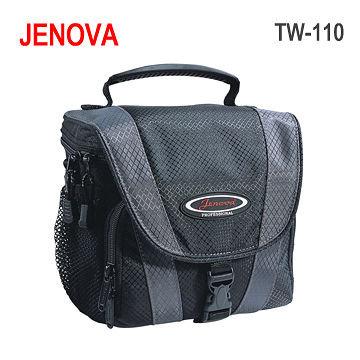 義大利 JENOVA 吉尼佛 TW-110 新城市系列 側背式背包 單眼 1機2鏡 NEX5N NEX6 GF6 EPL5 EP5 - 限時優惠好康折扣