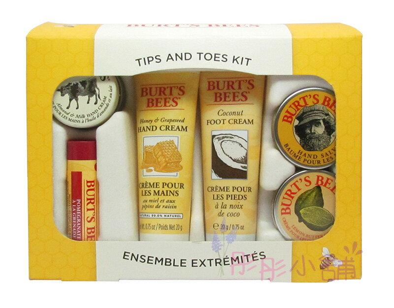 【彤彤小舖】Burt s bees 蜜蜂爺爺 從頭到腳禮盒組 6件組 Tips And Toes 原裝禮盒