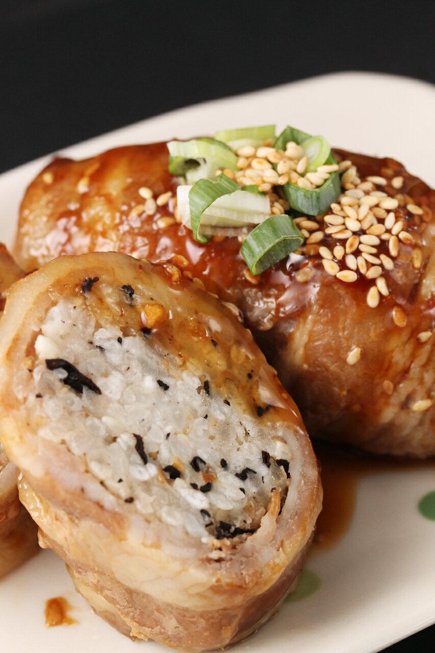茶美豬日式豬肉捲飯糰 1