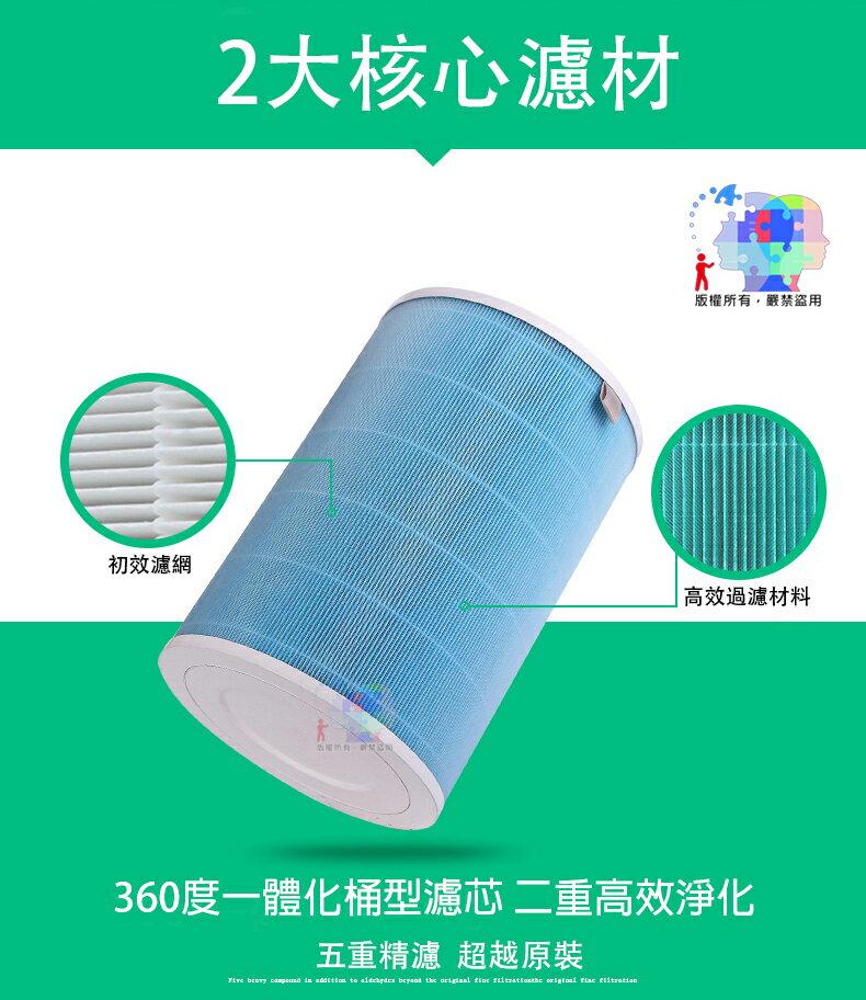 【小米淨化器外圈濾芯】初效濾網 HEPA濾網 過濾 顆粒物 PM2.5 PM0.3 花粉 空汙 Top-136-O-Fd 1