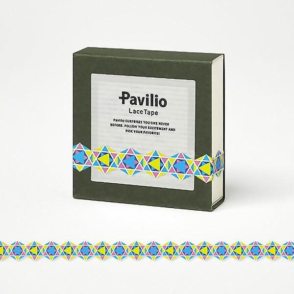 【日本Pavilio】風格膠帶MINI系列F-MI04FB藍多金捲