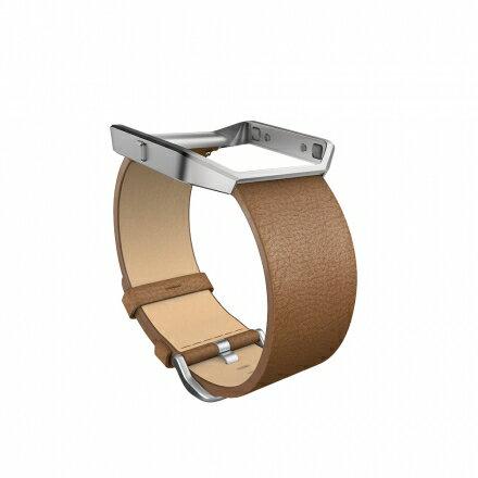 ★專用手腕帶★【全美銷售第一】 Fitbit Blaze 皮革錶帶 三色可選 運動手錶 智能手錶 1