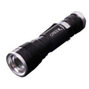 T6手電筒 LED手電筒 1000流明 伸縮調焦 強光手電筒 工作燈 18650 非Q5 R5 U2【C41套組】