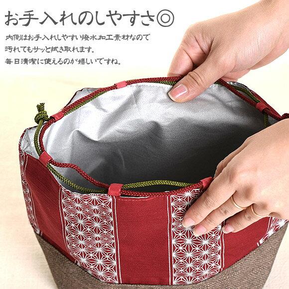 日本製 gin˙sai 印花保溫保冷便當袋 束口袋  /  sab-2029   / 日本必買 日本樂天代購直送(1782) /  件件含運 3
