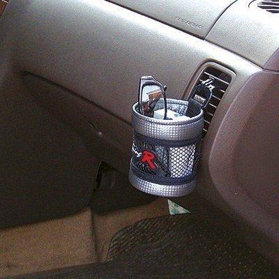 權世界~汽車用品 韓國 FOURING 汽車冷氣出風口夾式 黏貼式掛式手機袋收納置物袋 F
