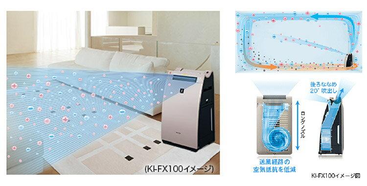 【海洋傳奇】【日本出貨】SHARP KI-WF75 加濕 空氣清淨機 1