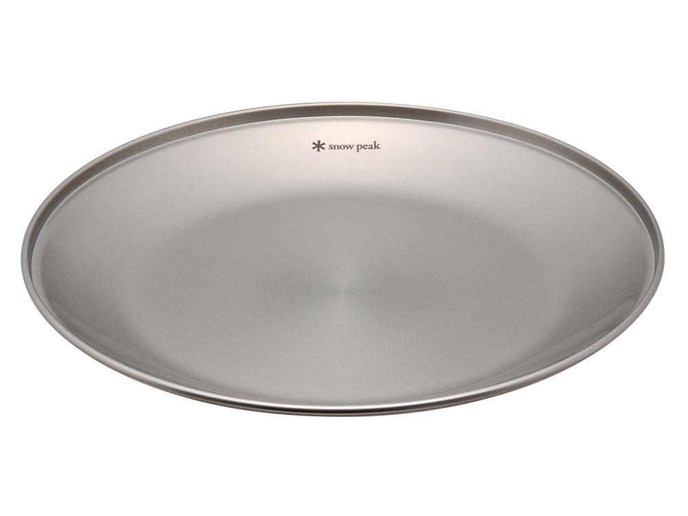 Snow Peak SP不鏽鋼餐盤-L /露營餐具 18-8 304 不鏽鋼 TW-034