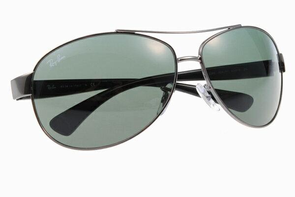 Ray Ban 雷朋 銀墨綠 太陽眼鏡 RB3386 6