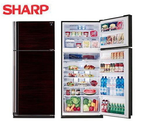 『SHARP』☆ 夏普583L自動除菌離子一級能效雙門冰箱 SJ-PD58V-BK **免費基本安裝**