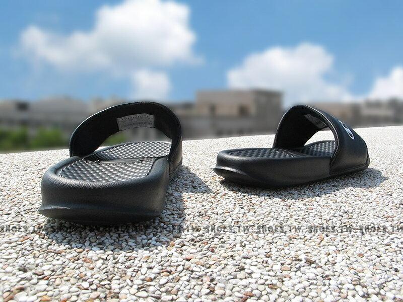 Shoestw【733250211】CHAMPION 拖鞋 運動拖鞋 小LOGO 黑色 男女尺寸 2