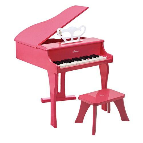 【免運費】《 德國 Hape 愛傑卡》音樂大鋼琴 - 粉紅