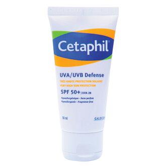 Cetaphil 舒特膚 極緻全護低敏防曬霜SPF50+ 50ml 公司貨中文標 PG美妝