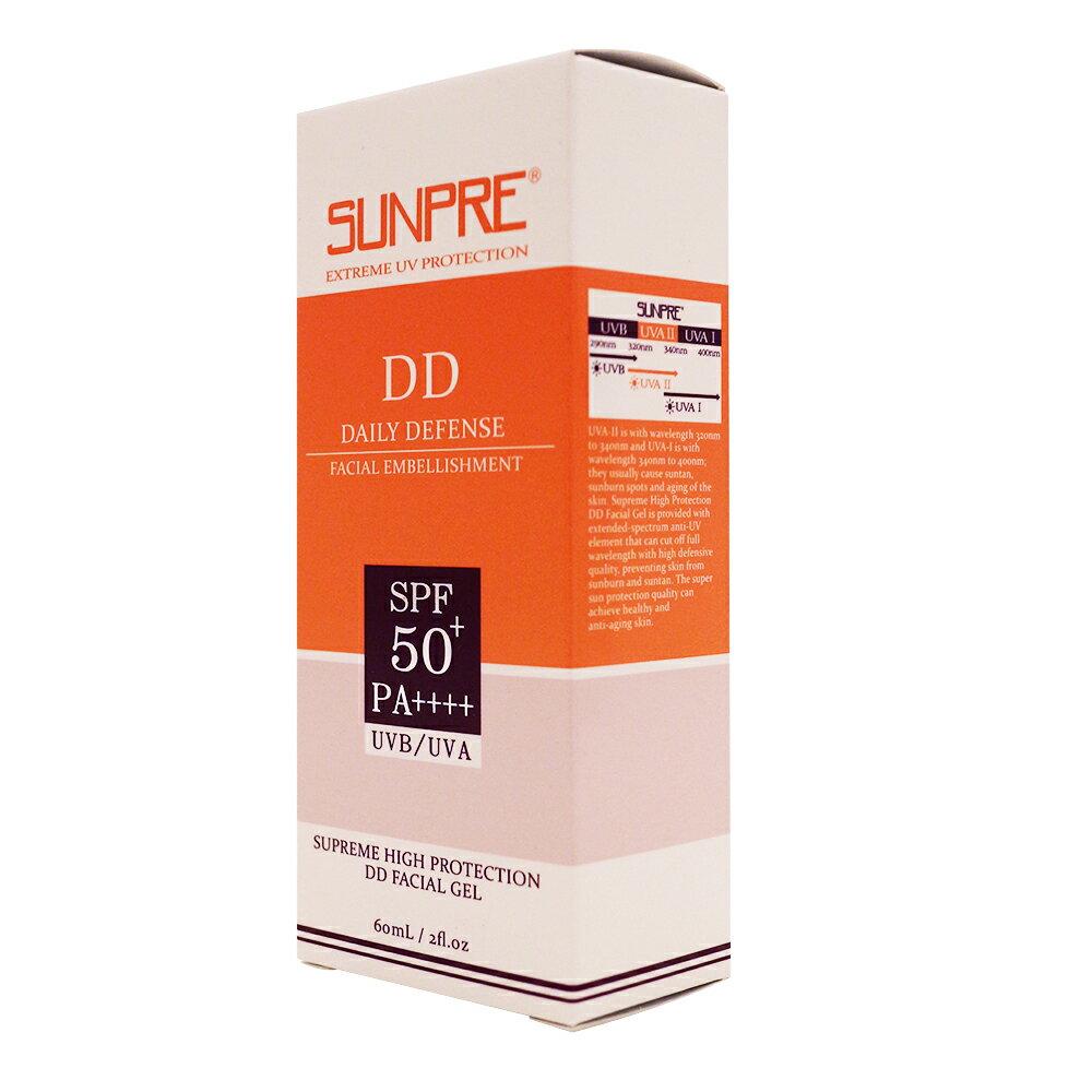 荷麗美加 上麗高效DD潤澤水防曬露(潤色)SPF50+ PA++++ 60ml 2020/03 上麗高效潤飾防曬水凝膠 公司貨 PG美妝