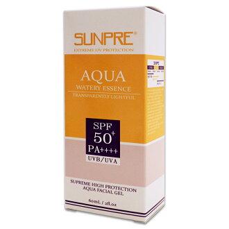 荷麗美加 上麗高效透明光感水防曬spf50+pa++++ 60ml/瓶 原/高效防曬凝膠SPF50+公司貨中文標 PG美妝