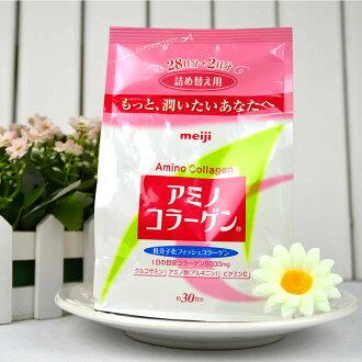 Meiji 日本明治膠原蛋白粉補充包袋裝214g 日本熱銷NO.1 日本平行輸入 PG美妝