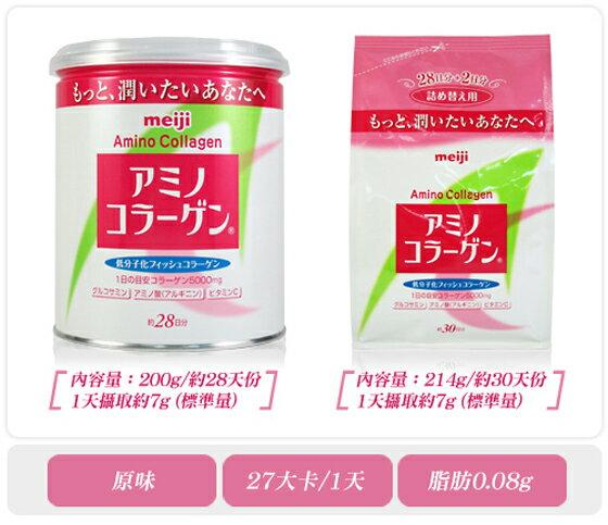 Meiji 日本明治膠原蛋白粉補充包袋裝214g 2019 / 07 日本熱銷NO.1 日本平行輸入 PG美妝 6