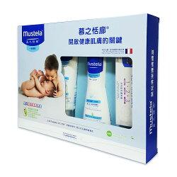 慕之恬廊 嬰兒清潔護膚禮盒(附袋) Mustela 2020/07 公司貨中文標 PG美妝