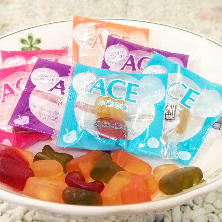 ACE字母Q軟糖(無糖粉)1000g超級量販包 比利時製造 另有天然水果Q軟糖維他命C軟糖(有糖粉) PG美妝