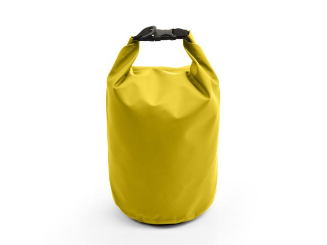 5L Waterproof Floating Water Resistant Dry Bag for Swimming Boating Camping Biking Yellow Nylon 0