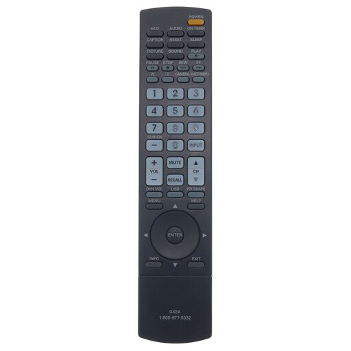 Sanyo Substitute TV Remote Control For DP32648 DP37649DP42848 DP46848
