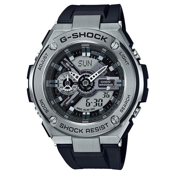 CASIOG-SHOCKGST-410-1A百老匯爵士樂多彩雙顯腕錶53mm