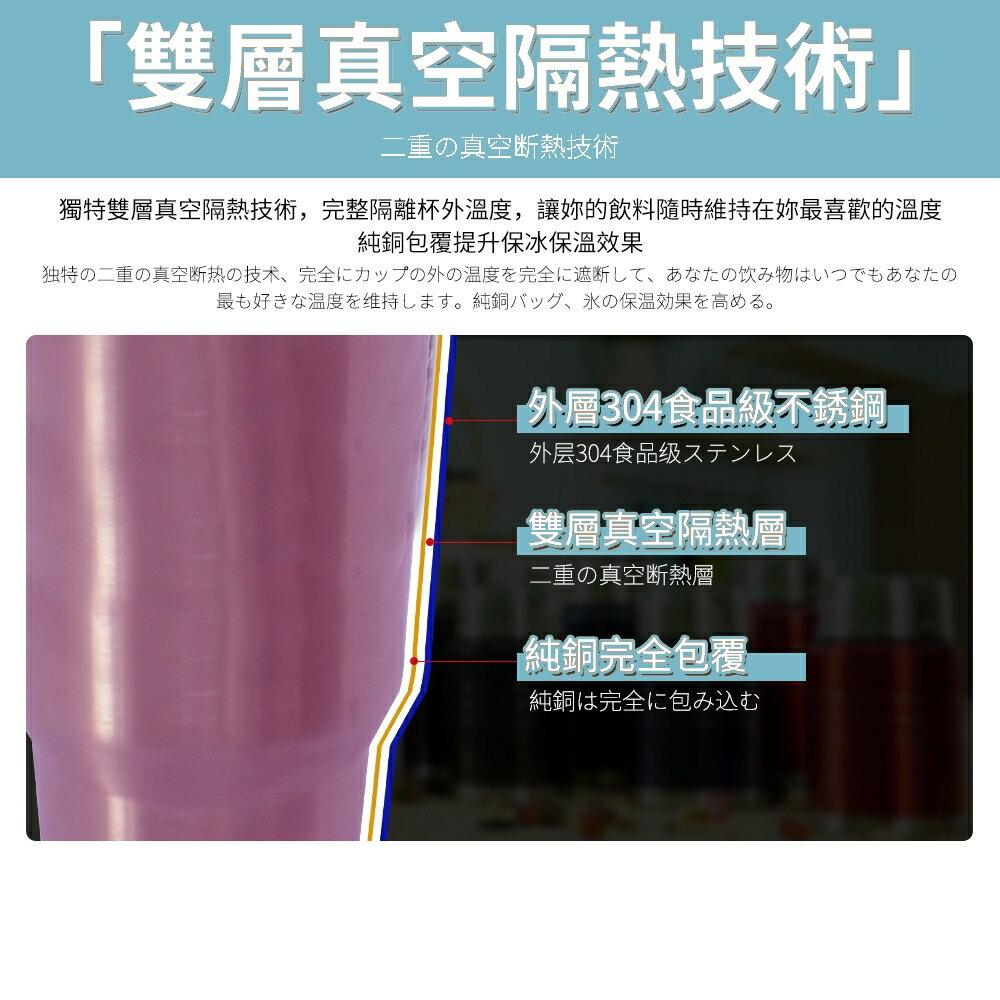 保冰保溫杯900ml  ⭐SGS檢驗合格⭐ 304不銹鋼杯子+密封蓋+手提保護杯套【HF005】 3
