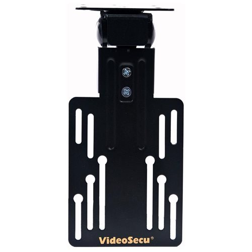 VideoSecu Flip-down Under Cabinet Mount for most Small Size TV Monitor LCD LED Flat Panel Screen Displays HDTV 1KY