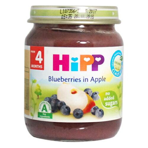 HiPP喜寶有 機蘋果小藍莓泥