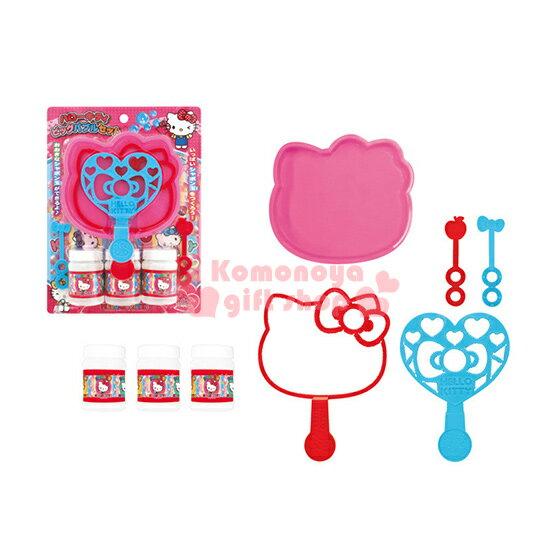 〔小禮堂嬰幼館〕Hello Kitty 吹泡泡玩具《粉.大臉》適合3歲以上兒童