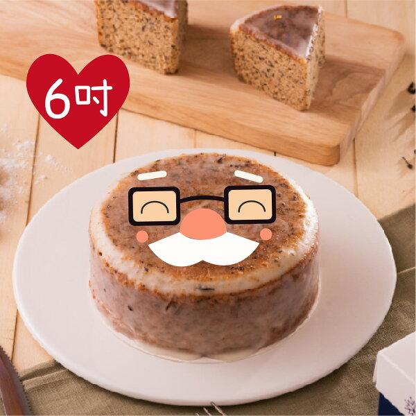 木匠手作★老爺爺伯爵紅茶糖霜蛋糕(6吋)★
