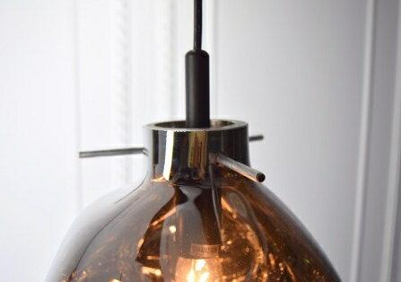 手工吹製電鍍銀玻璃吊燈-BNL00115 1