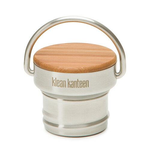 Klean Kanteen KCSSLB 窄口竹片瓶蓋/平光不鏽鋼竹片頂部