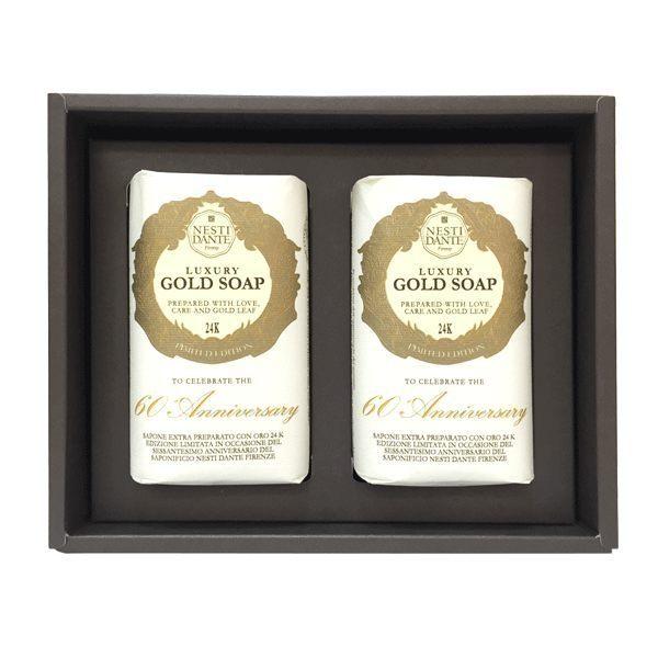 Nesti Dante 義大利手工皂 黃金能量皂禮盒 250gx2 贈小香皂【A002165】《BEAULY倍莉》