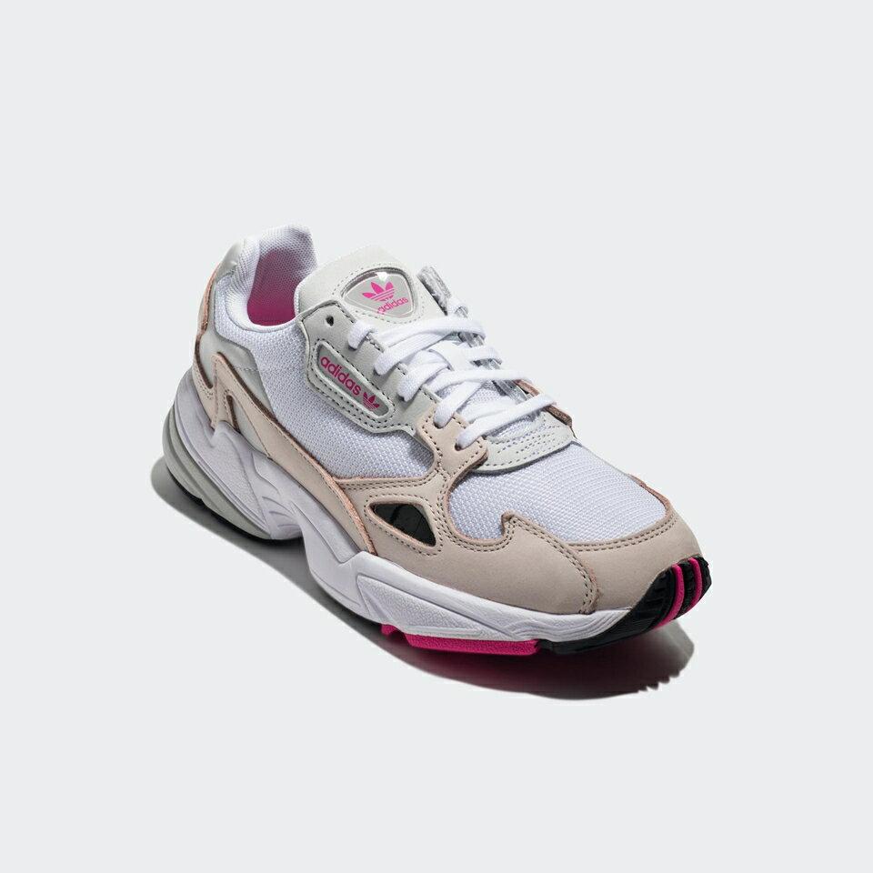 【ADIDAS】FALCON W 白粉 經典鞋 復古鞋 休閒鞋  慢跑鞋 女 訂價3690 DB2763 (Palace store) 4