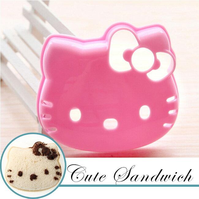 可愛KITTY三明治模具/吐司模型壓模/貓咪造型 野餐