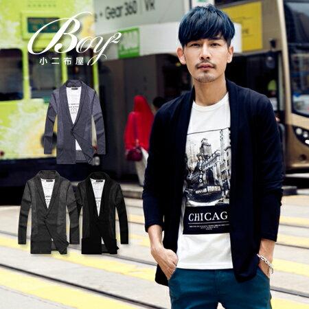 ☆BOY-2☆【NC0161】韓版紳士針織螺紋外套 1