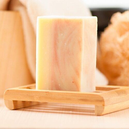 *蕾爸工坊* 粉紅礦泥回春皂 手工皂/冷製皂/馬賽皂//橄欖油/沐浴乳/年節禮盒/純天然 110g±5%