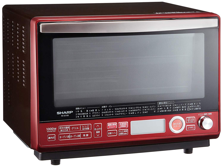 日本公司貨 夏普 SHARP RE-SS10B 31L 2段調理水波爐烤箱 日本必買代購