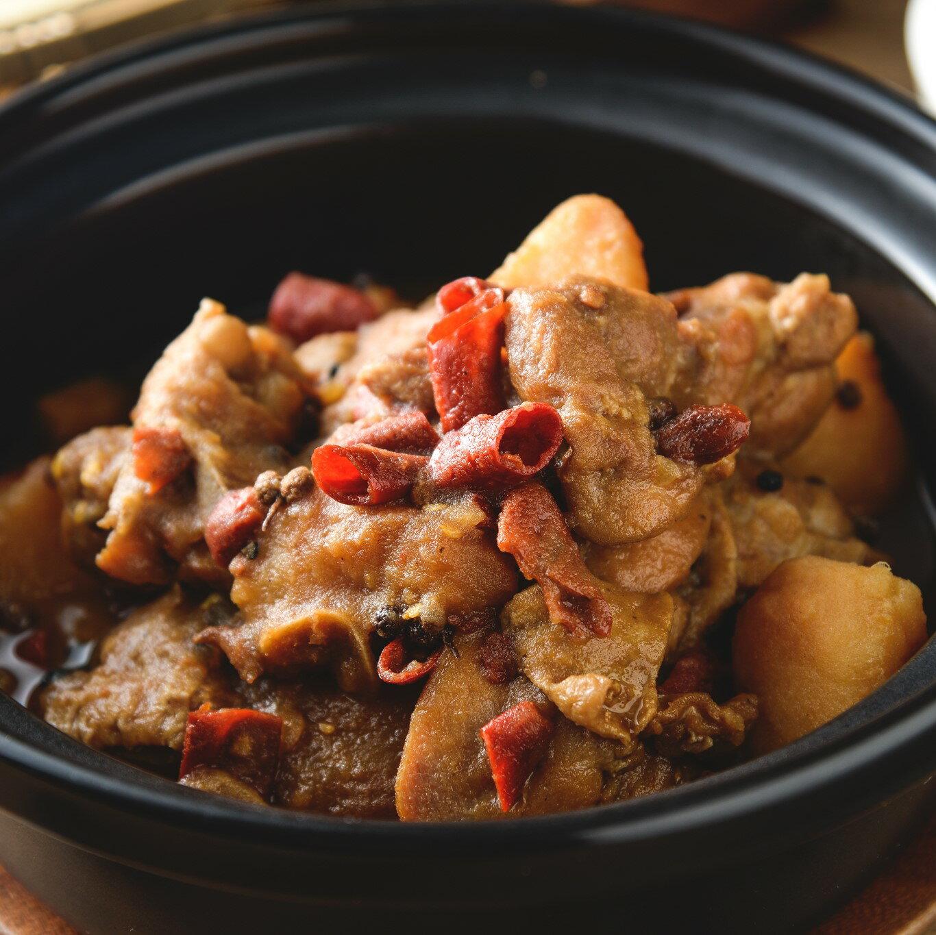 川味大盤雞 500g    || 爽滑麻辣的雞肉和軟糯甜潤的馬鈴薯,辣中有香 4