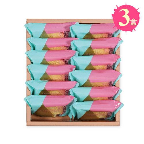 【糖村SUGAR & SPICE】法式鹽之花香頌脆餅12入禮盒x3盒 - 限時優惠好康折扣