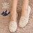 格子舖*【AW663】MIT台灣製 焦點目光彩繪花布花朵 蕾絲透視設計 懶人鞋 平底包鞋 2色 0