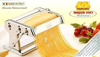 阿邦小舖 MARCATO義大利手動製麵機 (18CM) AMPIA-180 Manual Noodle Maker (目前現貨15CM)