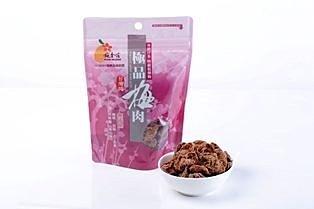美纖小舖:梅香莊極品梅肉無籽微酸微鹹*無阿斯巴甜