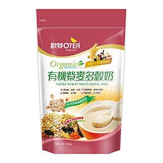 美纖小舖:歐特有機紫麥多榖奶有機黑榖多榖奶有機青汁多榖奶(400g)