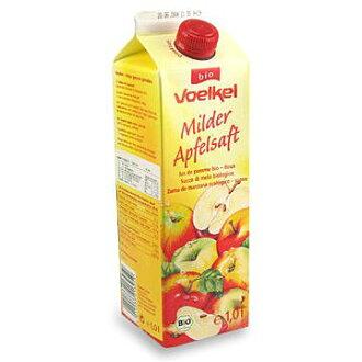 德國維可 Voelkel 有機蘋果汁 Demeter 1000ML/罐 6瓶入